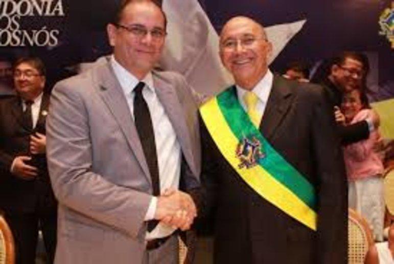 Daniel Pereira e Confúcio Moura (Foto Secom)