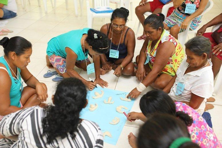 Evento teve dinâmicas e atividades educativas (Foto: Everson Tavares)