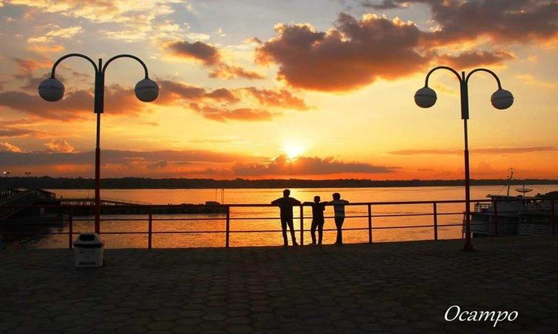 Vista do Terminal do Caí N'água em Porto Velho - Rondônia