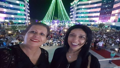 NATAL DE LUZ: Que noite incrível! Por Mara Paraguassu