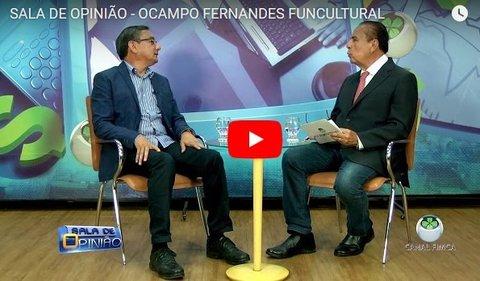 SALA DE OPINIÃO - OCAMPO FERNANDES, DA FUNCULTURAL