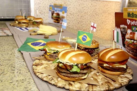McDonald's apresenta os Sanduíches Campeões aos jornalistas de Porto Velho