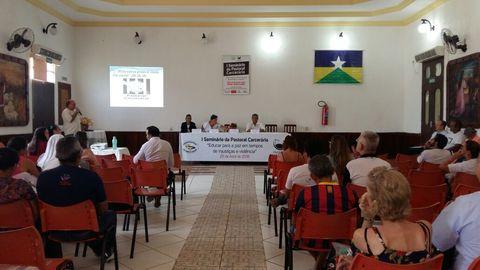 Carta do I Seminário da Pastoral Carcerária da Arquidiocese de Porto Velho.