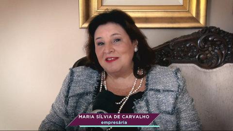 Maria Sílvia de Carvalho, uma mãe empreendedora (VÍDEO)
