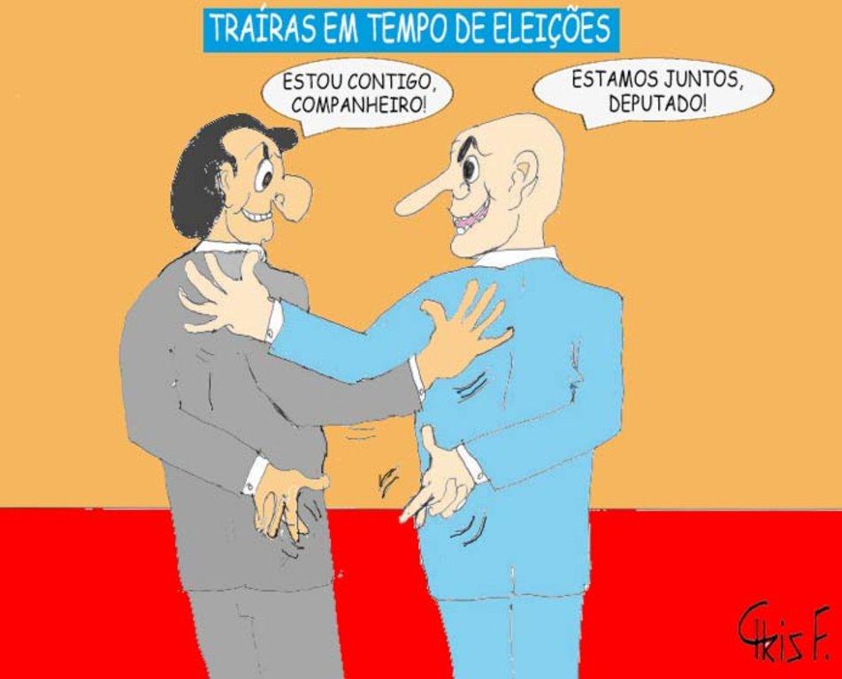 O punhal da traição dos políticos está bem afiado - Por Carlos Sperança - Gente de Opinião