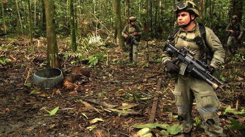 A Colômbia em busca da paz