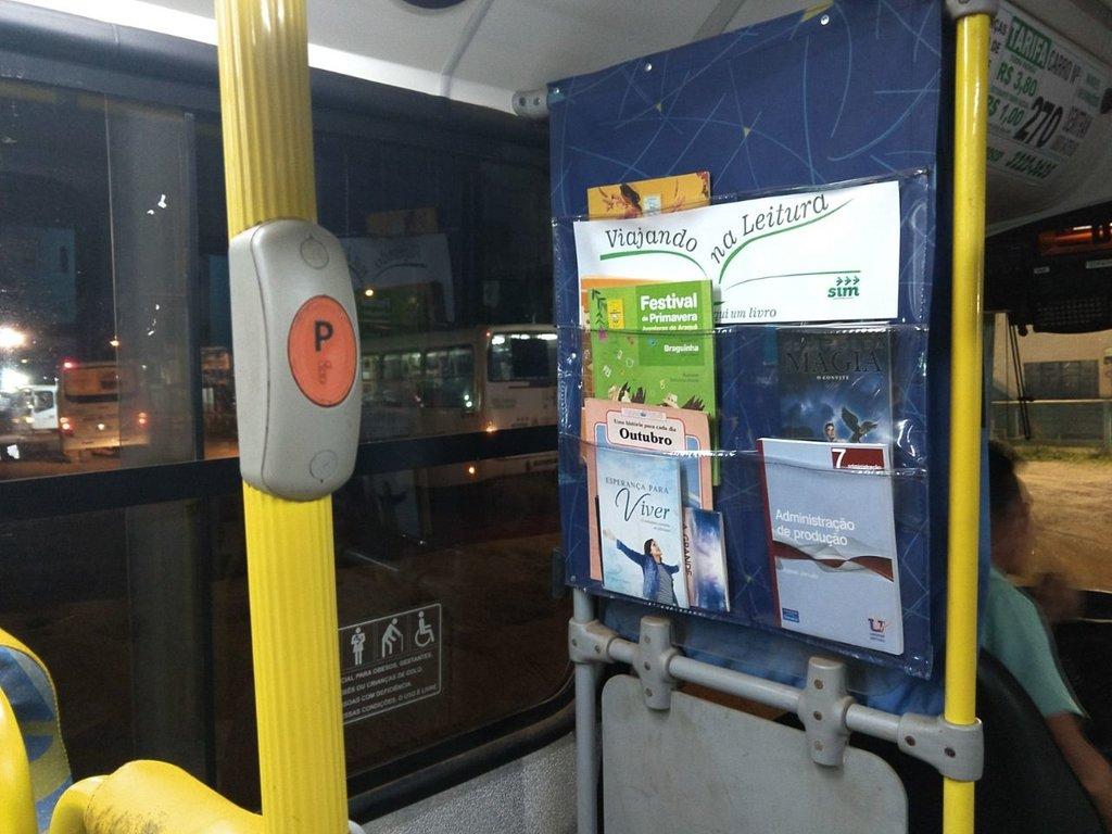 Campanha que incentiva leitura no ônibus é lançada em Porto Velho - Gente de Opinião