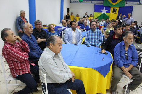 Presidente Raniery Coelho parabeniza CDL/PVH pelos 38 anos de fundação