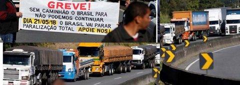Redução da Cide não resolve e greve vai continuar, dizem camioneiros