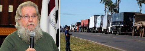 Afrânio Jardim: greve de caminhoneiros é Locaute