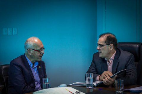 Governador fala sobre as potencialidades de Rondônia ao recepcionar embaixador alemão