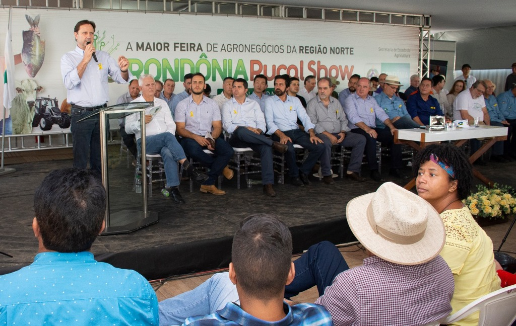 Novo marco do licenciamento ambiental vai favorecer agricultores, diz Acir Gurgacz na abertura da Rondônia Rural Show  - Gente de Opinião