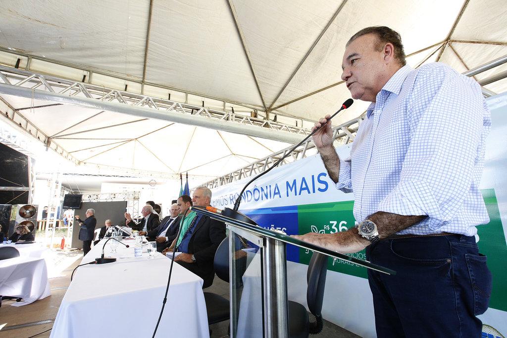 Ex-prefeito Jesualdo Pires destaca crescimento da Rondônia Rural Show - Gente de Opinião