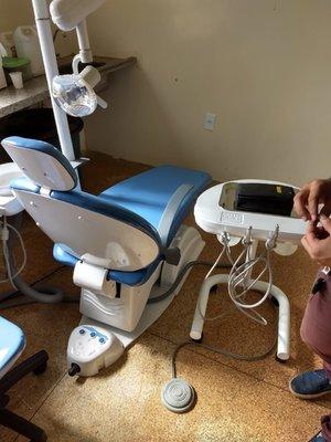Unidade de Saúde Cachoeira de Teotônio volta a oferecer tratamento dentário à comunidade