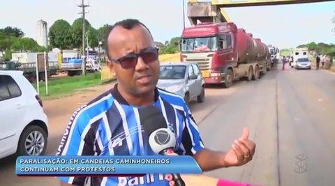 Balanço Geral mostra a greve dos caminhoneiros em RO (VÍDEO)
