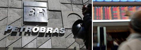 Petrobras derrete, cai 14% na bolsa e é rebaixada