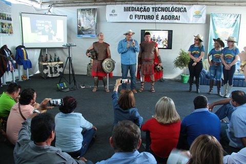 Projeto Ensino Médio com Mediação Tecnológica é apresentado durante a 7ª Rondônia Rural Show
