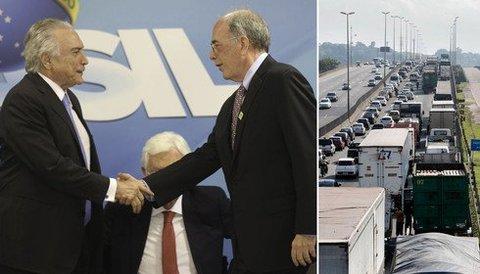 Brasil é refém de Parente, não dos caminhoneiros