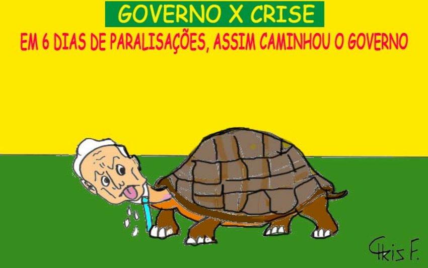 GOVERNO X CRISE