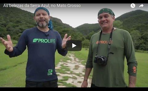 As belezas da Serra Azul, no Mato Grosso (VÍDEO)