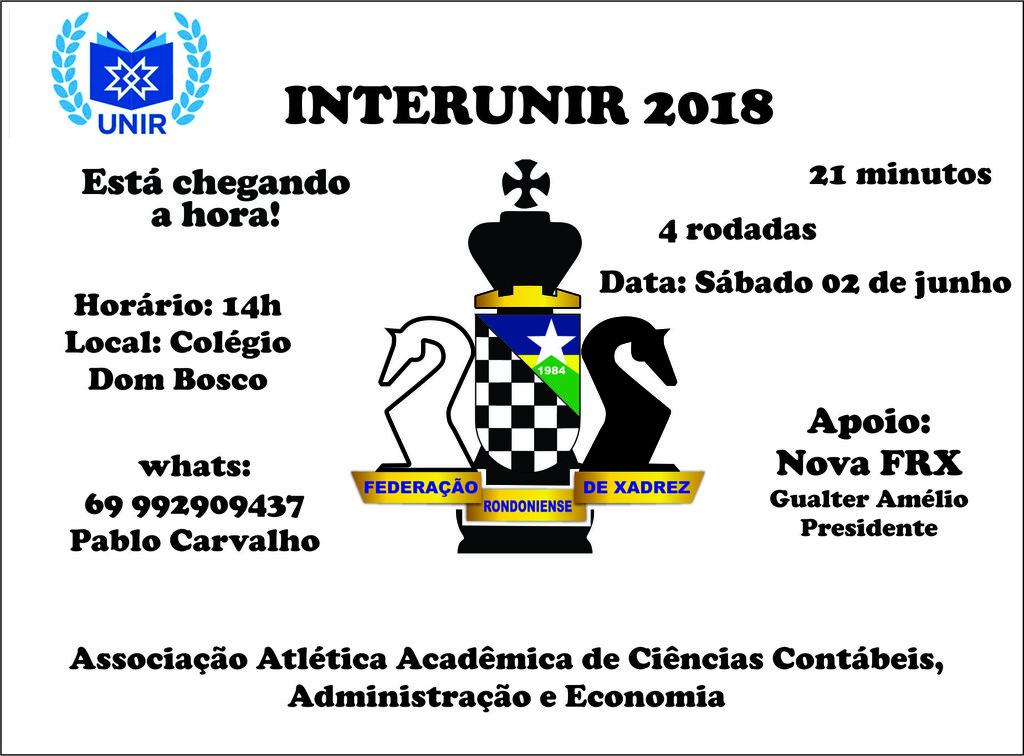 JOGOS UNIVERSITÁRIOS INTERUNIR 2018 - Gente de Opinião