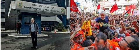 Frei Betto visita Lula na prisão