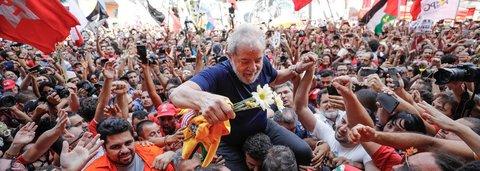 Lula: magro, animado e bem humorado é candidatíssimo