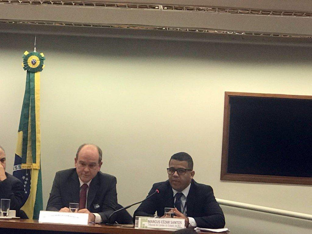 O auditor Marcus Cézar expôs o acompanhamento feito pelo TCE-RO em relação às discussões do real valor da dívida do Beron - Gente de Opinião