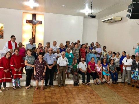 Sagrada Família celebra domingo o jubileu de prata da pastoral da pessoa idosa
