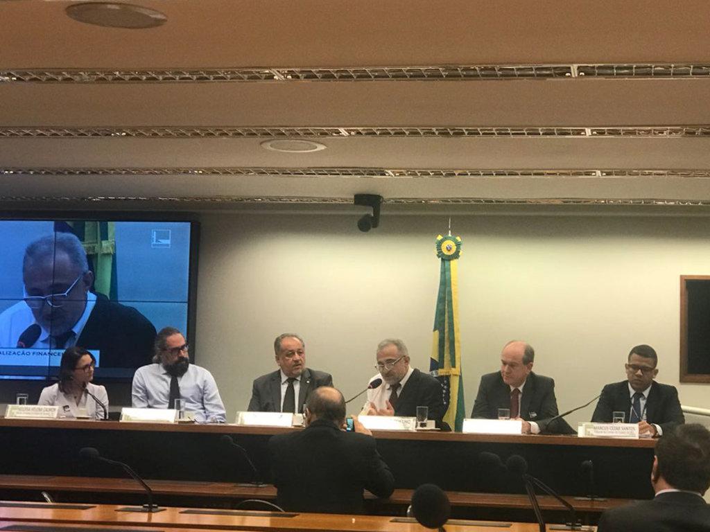 Representantes de instituições públicas de Rondônia estiveram no debate, realizado Câmara dos Deputados, em Brasília - Gente de Opinião