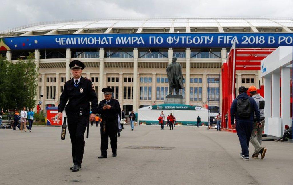 A Copa do Mundo Rússia 2018 tem início hoje (14), às 12h (horário de Brasília), com o jogo entre as seleções da Rússia e da Arábia Saudita, no Estádio Luzhniki, em Moscou - Kai Pfaffenbach/Reuters/Direitos reservados - Gente de Opinião