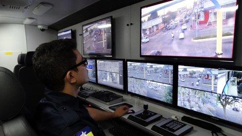 Videomonitoramento avança e registrada redução de criminalidade nos locais monitorados em Rondônia