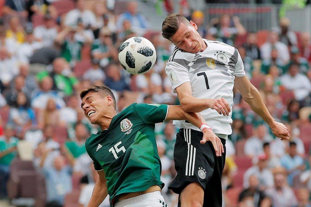 Jogo Alemanha contra México, pelo Grupo F da Copa do Mundo 2018, em Moscou/Maxim Shemetov/Reuters/Direitos reservados - Gente de Opinião