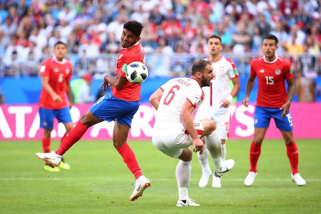 Pelo jogo do Grupo E da Copa do Mundo 2018, Costa Rica vence a Sérvia/Michael Dalder/Reuters/Direitos reservados - Gente de Opinião