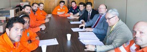 Petroleiros ocupam a Câmara contra projeto no qual Petrobras abre mão do pré-sal