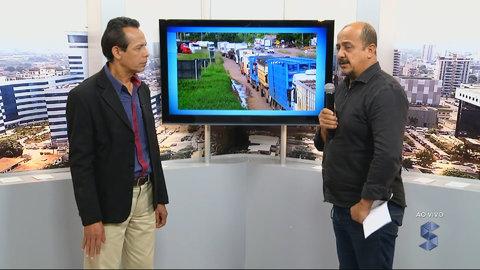 Augusto José atualiza as últimas notícias sobre os caminhoneiros em Rondônia (VÍDEO)