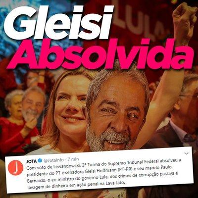 Gleisi absolvida: nada apaga o sofrimento