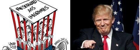 Latuff mostra a nova face dos EUA