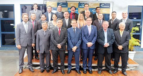 Diretoria eleita da Fecomércio-RO toma posse para o mandato 2018/2022