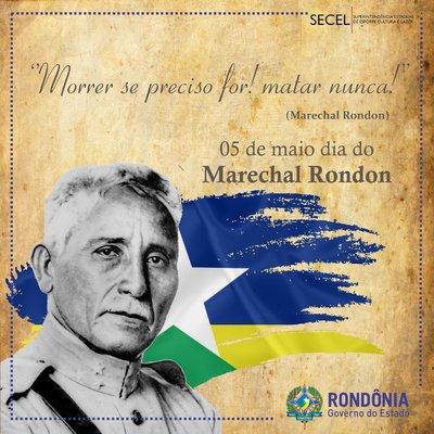 General Rondon Preso no Sul - Por Hiram Reis e Silva