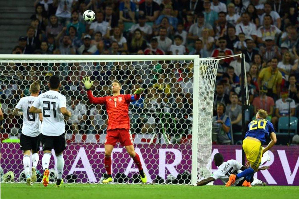 Copa 2018, Alemanha e Suécia, Gol Suécia REUTERS/Dylan Martinez - Dylan Martinez/Reuters/Direitos Reservados - Gente de Opinião