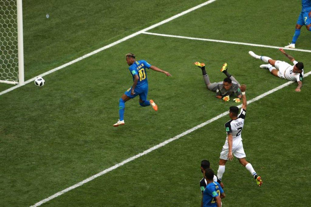 Gol de Neymar na Costa Rica (Reuters/Lee Smith /Direitos reservados) - Gente de Opinião