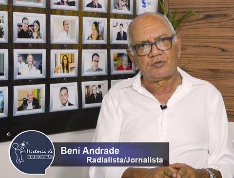 O COMPOSITOR DE UMA MÚSICA SÓ: BENI ANDRADE