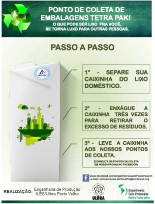Ulbra Porto Velho e TJ/RO firmam parceria para implantar ponto de coleta