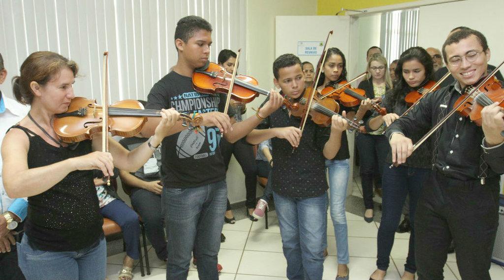 Alunos e professores da Escola Municipal Som na Leste realizam recital temático 'caipira', nesta terça-feira  - Gente de Opinião