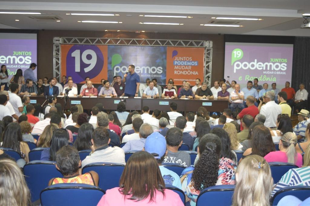 Podemos realiza pré-convenção em Porto Velho - Gente de Opinião