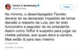 Lula não sai da prisão sem OK dos Marinho e bozós