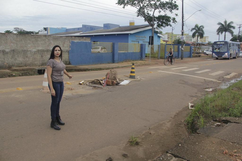 Há 3 meses, Cristiane Lopes cobra providências para a rua João Paulo I    - Gente de Opinião