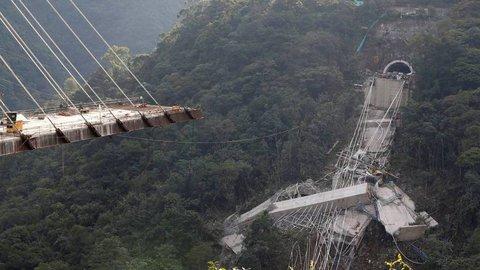 Colômbia investiga a implosão da ponte de Chirajara
