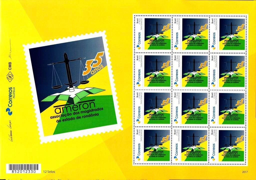 Em comemoração aos 35 anos, Ameron lança selo especial pelos Correios - Gente de Opinião